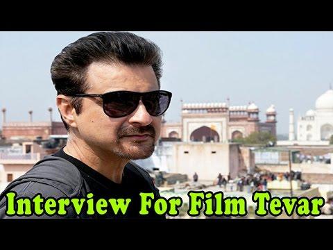 Sanjay Kapoor flaunts his Tevar