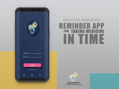 Medicine Reminder Android App