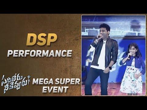 Music Director DSP Live Performance @ Sarileru Neekevvaru Mega Super Event