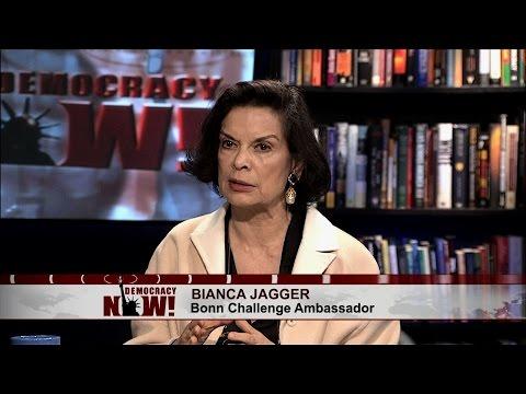 "Bianca Jagger: ""We Cannot Rely Upon the Leaders of the World"" to Lead Fight on Climate Change"