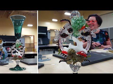 Venetian Style Goblet w/ Cedric Ginart & Karina Guevin
