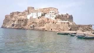 La plage de Bades et Le Peñón de Vélez de la Gomera