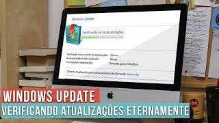 """Windows Update não sai do """"Verificando se há atualizações"""" (RESOLVIDO WIN7)"""