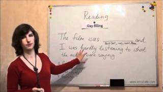 Чтение (ЗНО, английский): Часть 3 (эпизод 2), видео урок(В этом видео уроке я расскажу Вам о том, как успешно справляться с заданиями на заполнение пропусков по..., 2011-12-30T09:06:44.000Z)