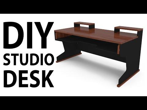 Ultimate DIY Home Studio Desk