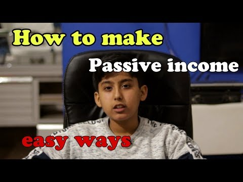 How to make passive income | 4 easy ways | talal khan