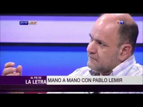 El doctor Pablo Lemir en Al Pie de la Letra / 9 - 10 - 2018
