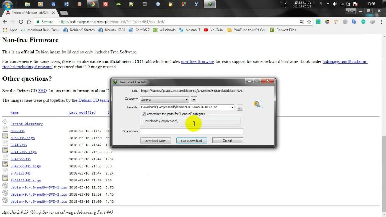 Download Debian 9 4 0