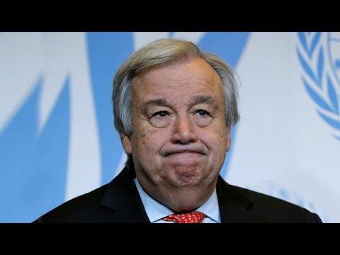 أمين عام الأمم المتحدة قلق من إلغاء ترامب القمة مع كوريا الشمالية…  - 20:21-2018 / 5 / 24