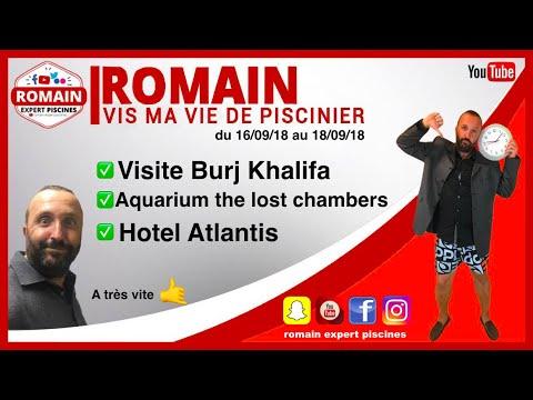 Burj Khalifa dubai – Aquarium the lost chambers – hotel Atlantis dubai Vis ma vie !