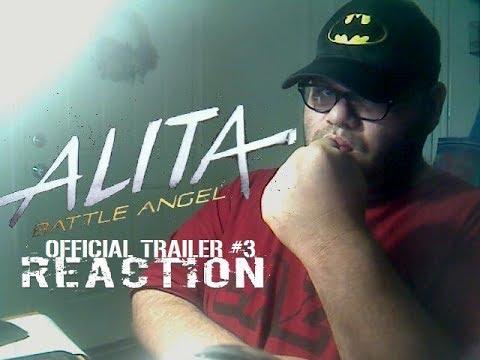 Alita: Battle Angel Official Trailer #3 Reaction