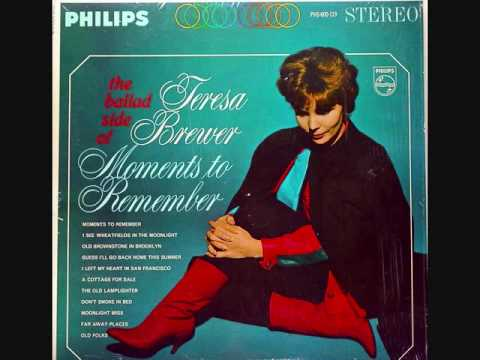 Teresa Brewer - The Old Lamplighter (1963)