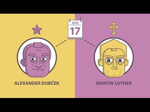 HiSTORY - Alexander Dubček a Martin Luther - 17.4. (celá časť)