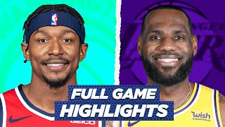 WIZARDS vs LAKERS - Full Game Highlights