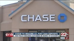 Chase Bank deposits