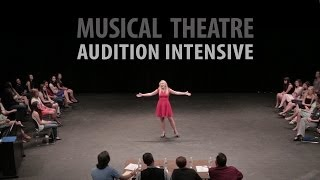 Arts Camp: Musical Theatre Audition Intensive