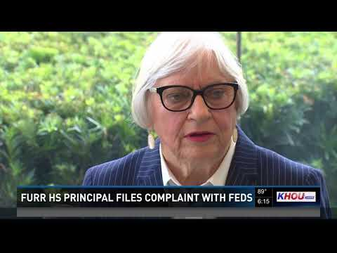 Furr High School  principal files complaint with feds