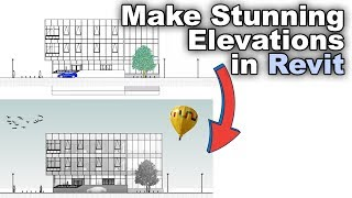 How to Make Stunning Elevations in Revit