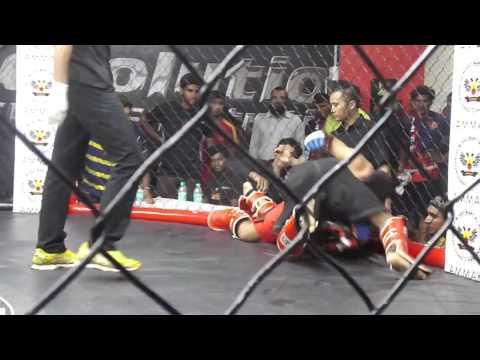 Mohd Faraaz Khan - Bangalore Open MMA Fight