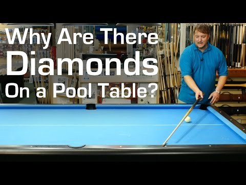 Why Are There Diamonds On A Pool Table?