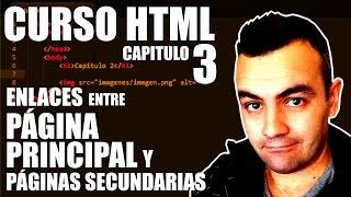 CURSO HTML #3 | ENLAZAR PAGINAS DE UNA MISMA WEB