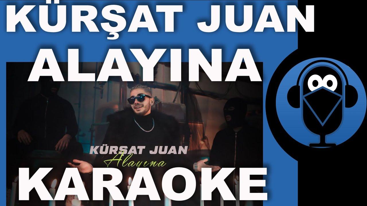 Kürşat Juan - Alayına / KARAOKE / Sözleri / Lyrics / Beat / Fon Müziği ( COVER ) TikTok