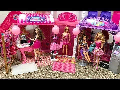 NEW Barbie Doll Malibu Mall!!