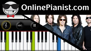 Europe - The Final Countdown - Piano Tutorial & Sheets (Intermediate)