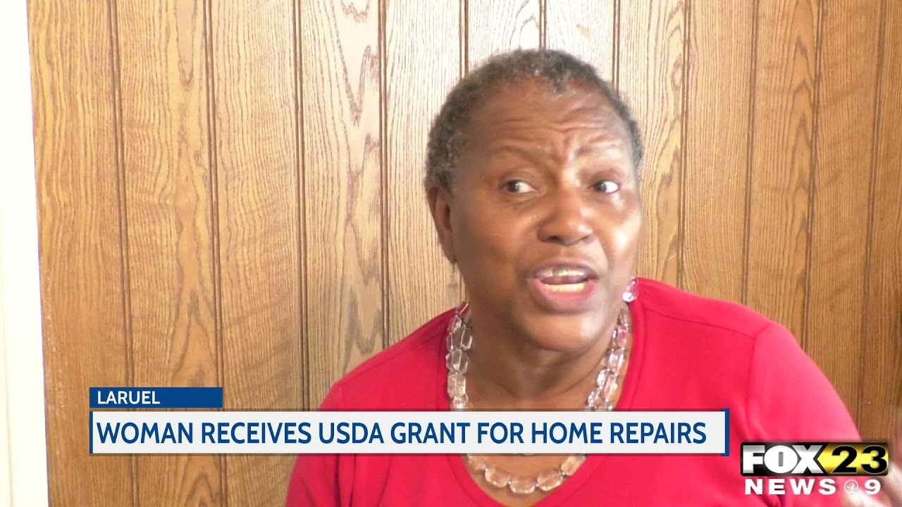 Kindness in Action: Woman receives USDA grant for home repairs