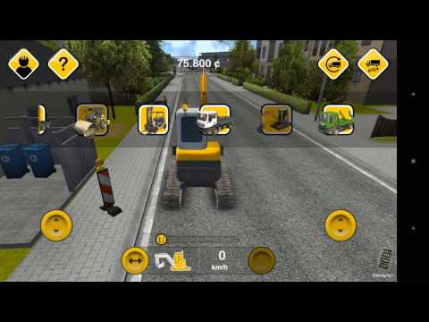 Construction Simulator 2014 #1 - ANDROID GAMEPLAY, CONSTRUCTION GAME