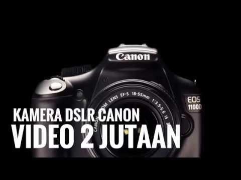 DAFTAR KAMERA DSLR CANON EOS HARGA 2 JUTA BISA VIDEO 2016