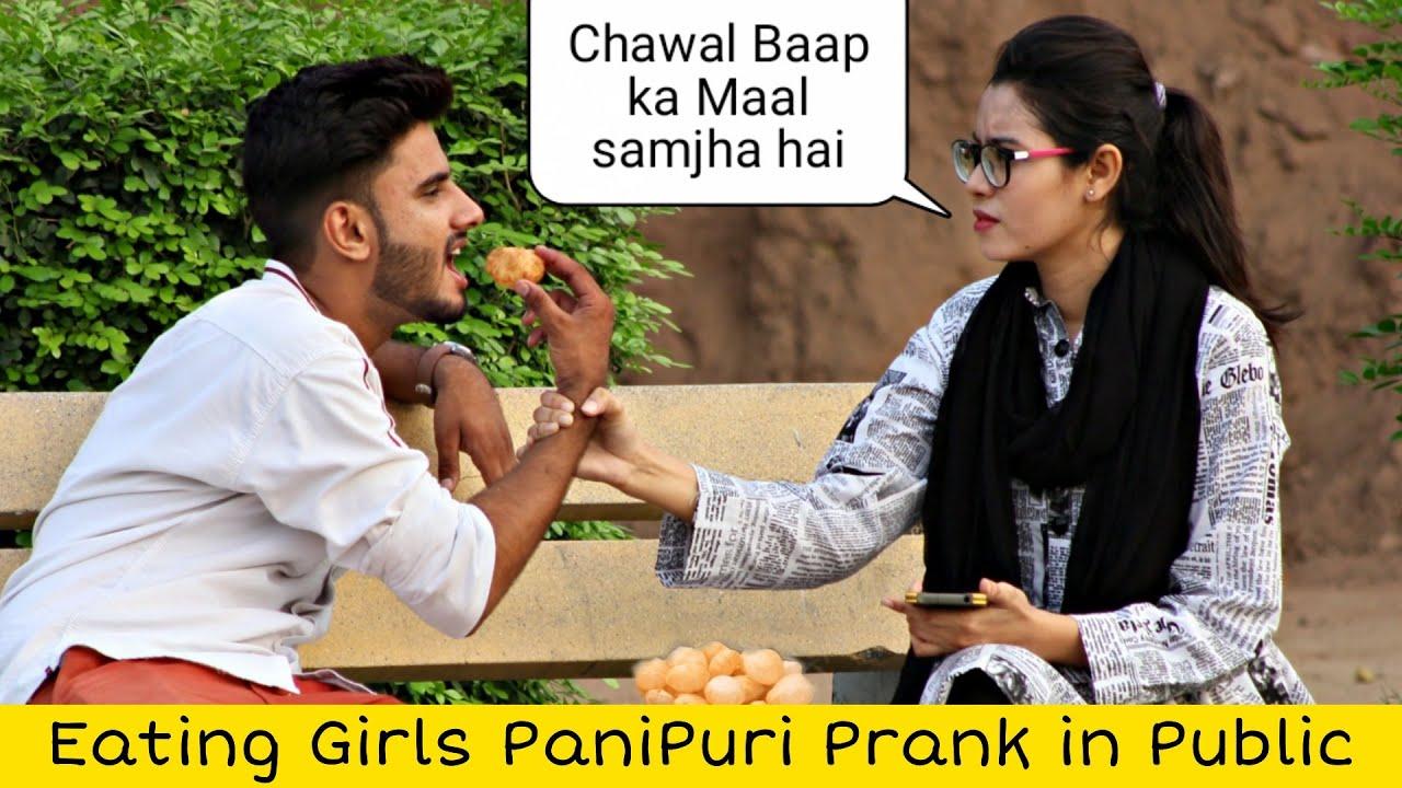 Eating Girls PANIPURI Prank In Pakistan @That Was Crazy