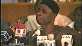Maj. General Adisa says Al Mustapha can not