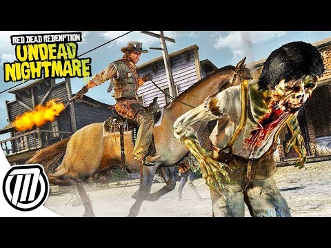 Red Dead Redemption UNDEAD NIGHTMARE Gameplay! (Zombie Mode!)