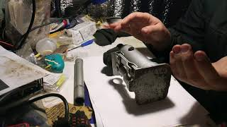 Ремонт и прокачка домкрата бутылочного matrix на 2 тонны