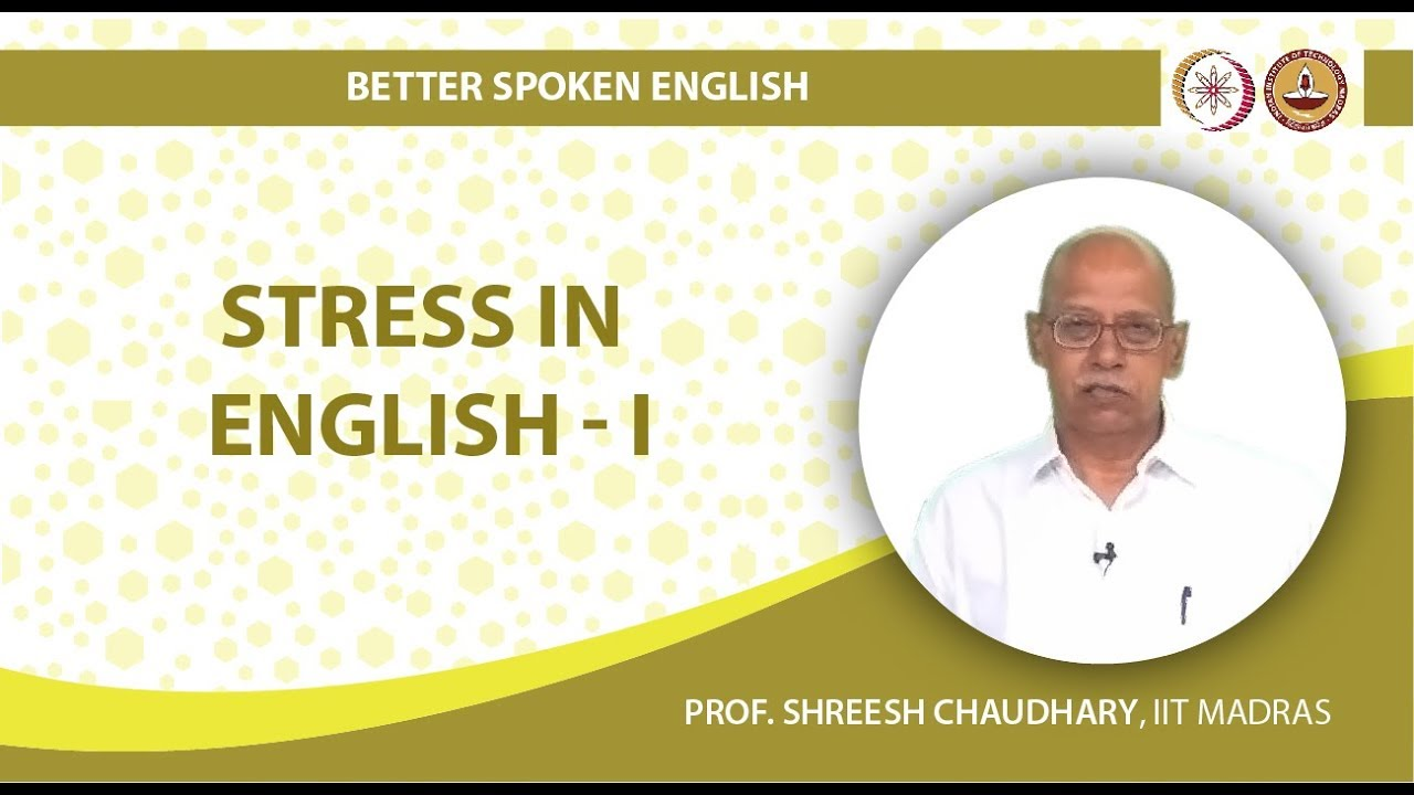 Stress in English I