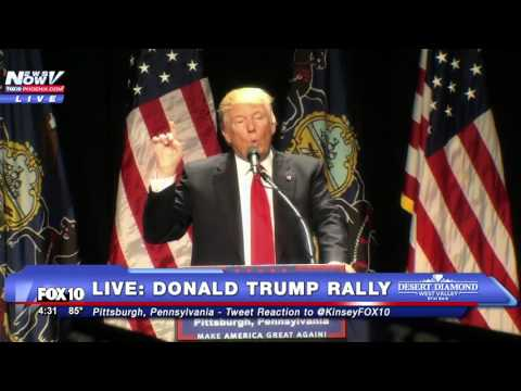 FNN: Donald Trump in Pittsburgh, Pennsylvania