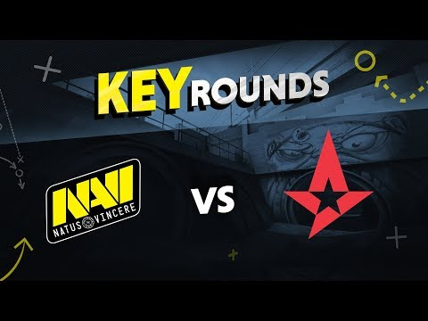 Key rounds: NAVI vs Astralis on Overpass @ ESL One Cologne 2018