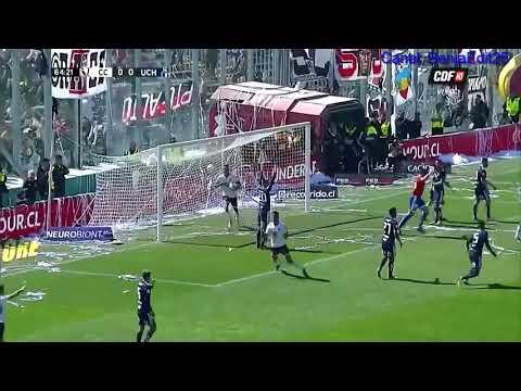 Gol Juan Insaurralde / Colo Colo 1 Vs 0 Universidad De Chile / Campeonato Scotiabank 2018