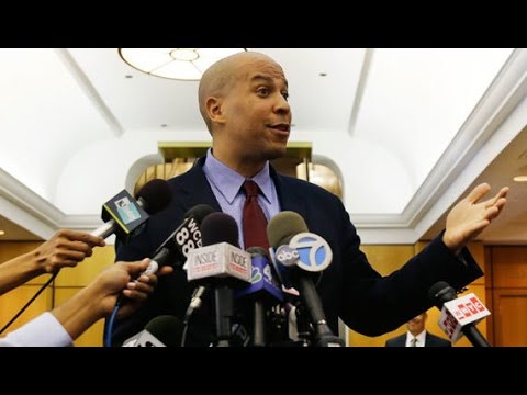 Cory Booker Is LOVING Sessions Confirmation Spotlight
