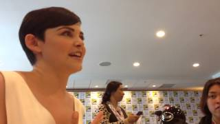 Ginnifer Goodwin SDCC 2013 Interview for OUAT! Thumbnail