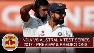 India vs Australia 2017 Test Series | Preview & Predictions | Thanthi TV