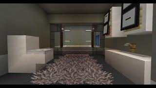 Minecraft дизайн интерьера : большая ванная комната