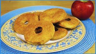 ПОЧЕМУ Я НЕ ГОТОВИЛА ТАКОЕ РАНЬШЕ??? ПОЛЕЗНЫЕ Пончики из Яблок и Ананаса