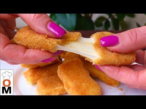 Быстрый и Очень Вкусный Перекус Во Время Просмотра Фильма | Горячий Сыр в Кляре
