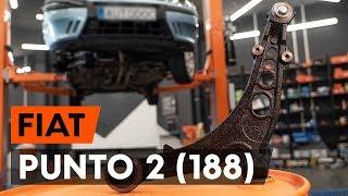 Como substituir a braço de suspensão dianteira no FIAT PUNTO 2 (188) [TUTORIAL AUTODOC]