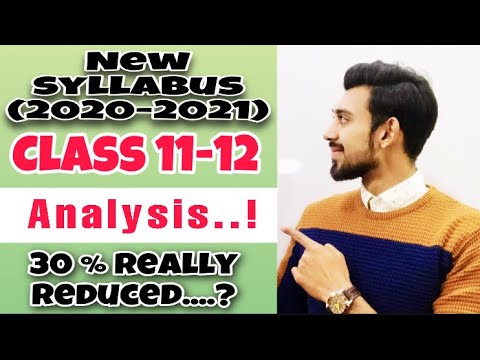 CBSE Syllabus Reduced | 11-12 Commerce | Complete Analysis 🔥🔥🔥