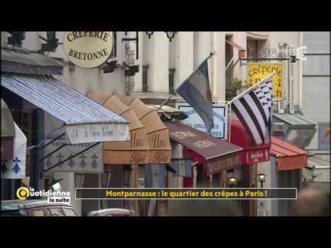 Extrait VOST : Montparnasse, le quartier des crêpes à Paris - La Quotidienne la suite
