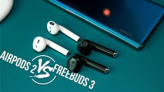 Обзор Huawei FreeBuds 3 🔥 - Единственная Альтернатива Apple AirPods 2