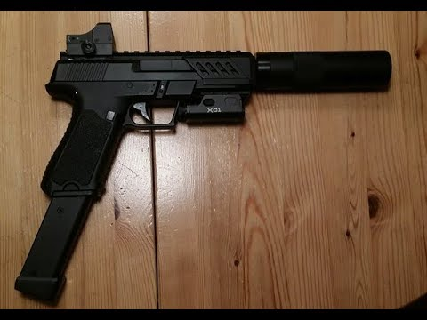 Heavily upgraded AEP CM.127 (shooting test and upgrades review)